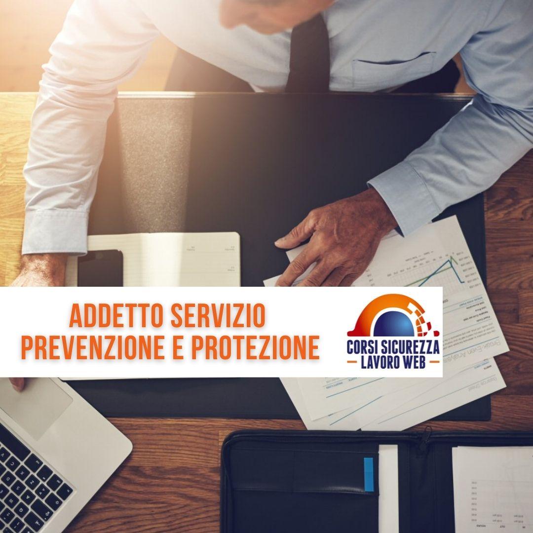 Addetto servizio protezione e prevenzione