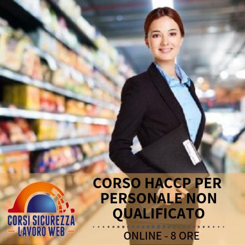 CORSO HACCP PER PERSONALE NON QUALIFICATO - DESCRIZIONE