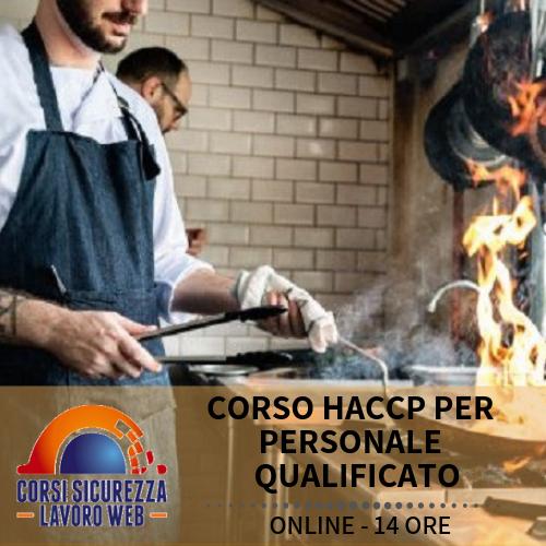 CORSO HACCP PER PERSONALE QUALIFICATO - descrizione