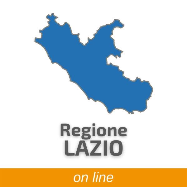 HACCP Regione Lazio online