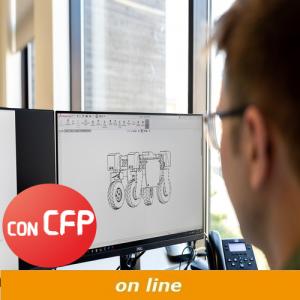 corso di modellazione 3D con Solidworks con cfp online