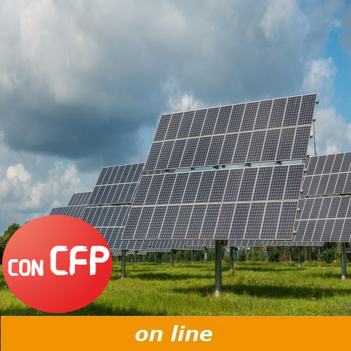 corso di progettazione di impianti solari fotovoltaici con cfp online