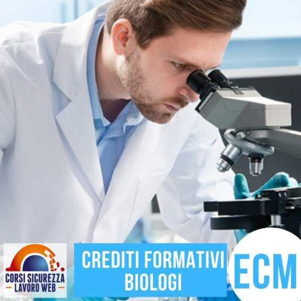 Corsi per Biologi ECM