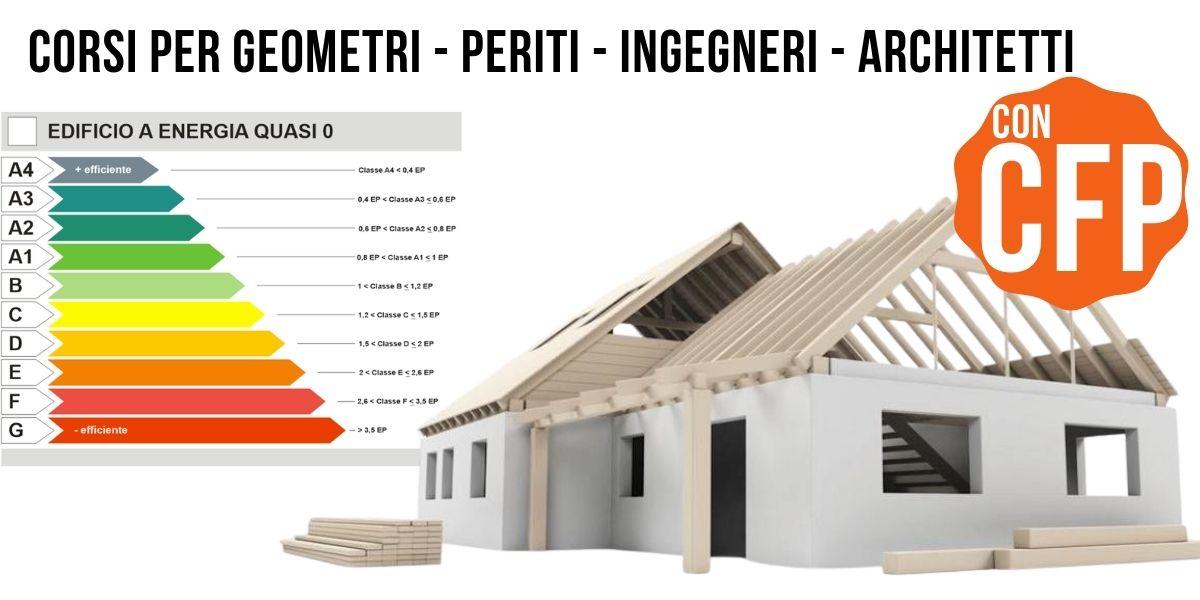 Corsi per geometri - periti - ingegneri - architetti OK